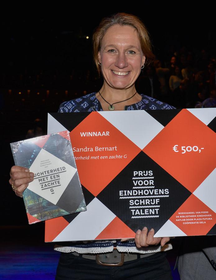 Sandra Bernart verkozen tot Eindhovens Schrijftalent 2017