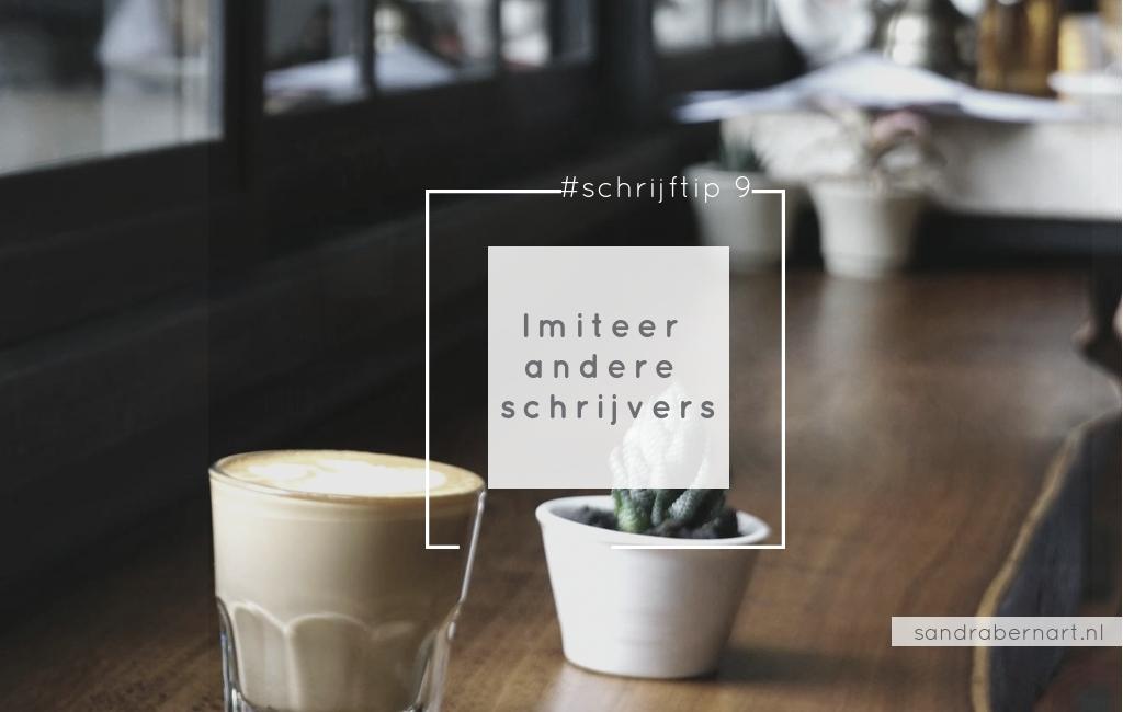 Imiteer andere schrijvers