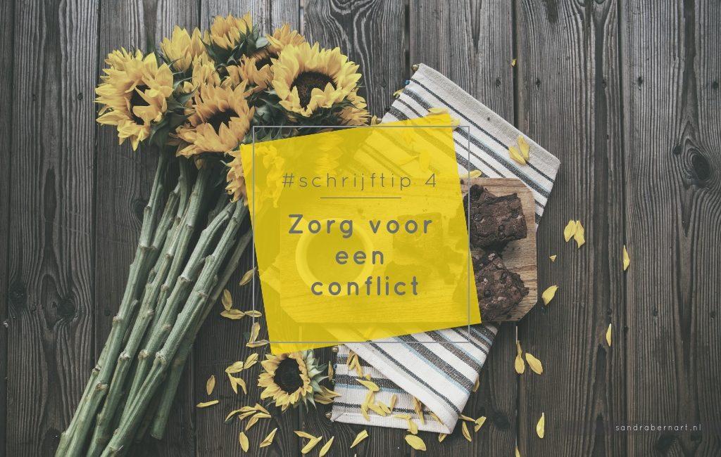 Zorg voor een conflict